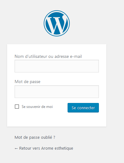Tutoriel WordPress Philippe Broquet Gestion page
